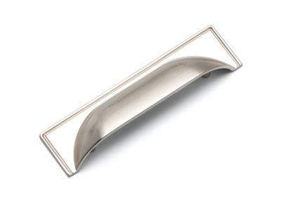 k1-174 cup handle brushed nickel